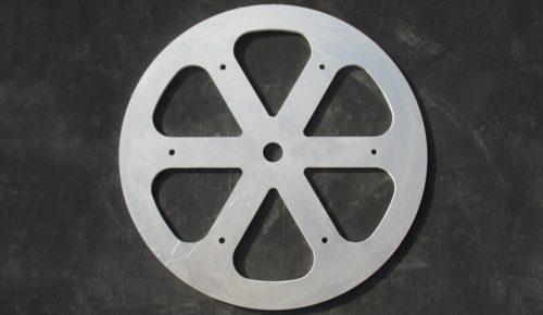 ruota in alluminio