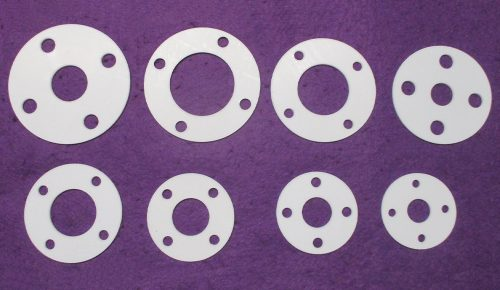flange in PTFE